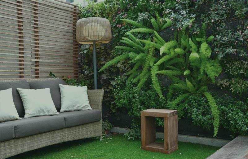 Jardines En Terrazas Un Jardín Dentro De Casa